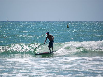Paddle surf in Gandia and spa circuit