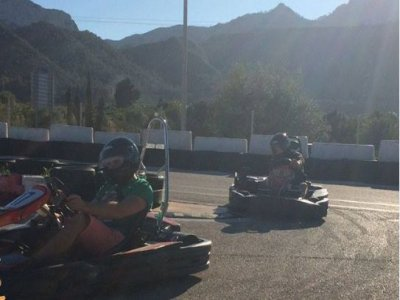 Kayak rental & Go-kart race in Gandía
