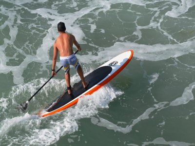 Banana boat and paddle surf rental in Gandia