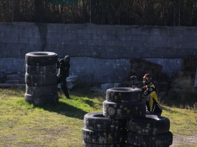Paintball 100 ammo Paella or barbecue + free bar