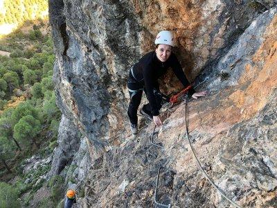 2h Via Ferrata in Carcauz Canyon