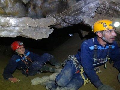Caving in Sorbas Treasure Cave