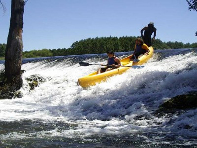 Canoe course in Tormes river