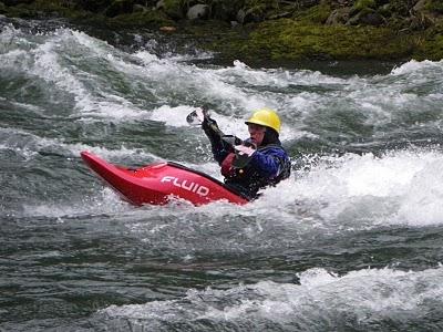 Direction change technique kayak Tormes 3h