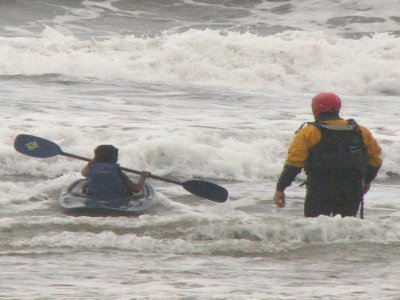 3h canoeing safety and self-rescue course