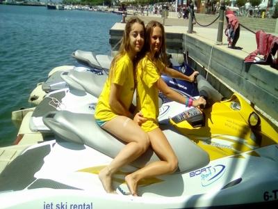Parasailing and jet ski in Tarragona
