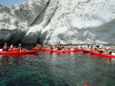 two-man kayak rental in Cabo de gata 4h