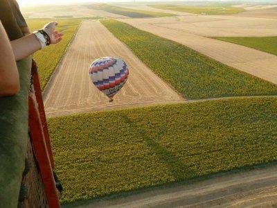 Balloon flight in Sevilla + breakfast kids offer