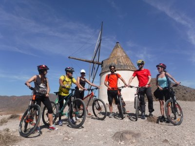 Trip in BBT throught Cabo de Gata-Níjar 3 hours