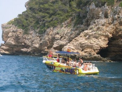 Motorboat Booking with Captain in Denia - 4 hours