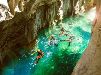 Water canyoning for beginners La Bolera, Jaén