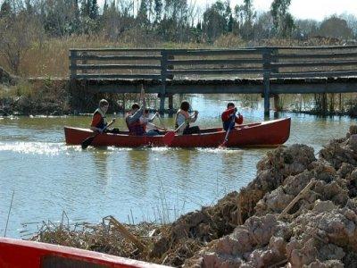 Canoeing tour Miravet & Benifallet, kids