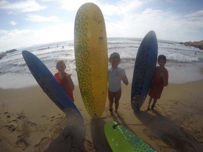 Surfing course at Puerto de Mazarrón, 5 days