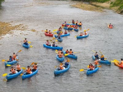 Canoeing Descent in Sella River + Picnic, Adults