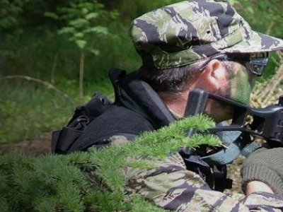 100 Paintballs Half Day North Wales