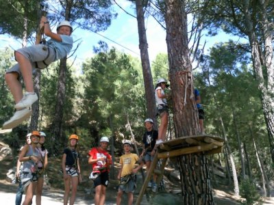 1/2 day Multi-Adventure party in Madrid
