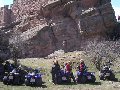 Single quads route in Molina de Aragón, 2h