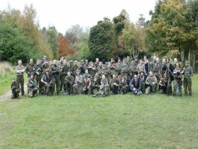1000 Paintballs North Wales