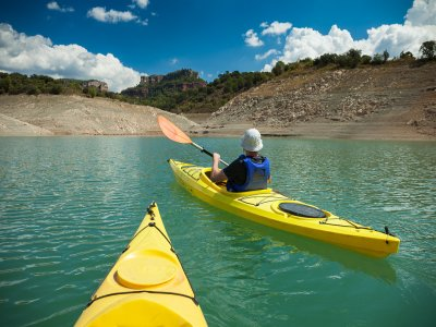 Kayak, Tourist Visit and Wine in Siurana