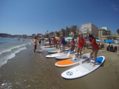 Paddle surf, rental, Puerto Mazarrón, 1h