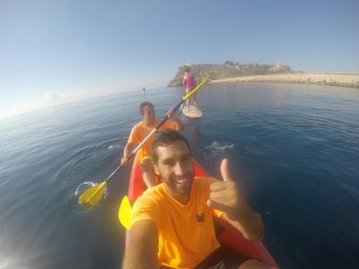 1h Renting a 2-seater kayak in Mazarrón