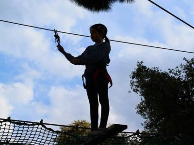 Zip-lines in Bollullos, Schools, High Season
