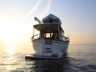 Romantic experience on private yacht in Barcelona