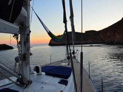 Luxury sailboat cruise La Manga + romantic dinner