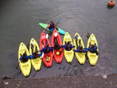 Plymouth & Devon Schools Sailing Association Kayaking