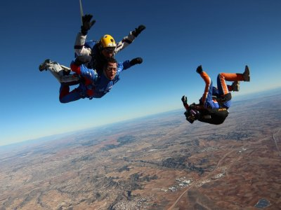 Skydive jump photos and video St Valentines Madrid