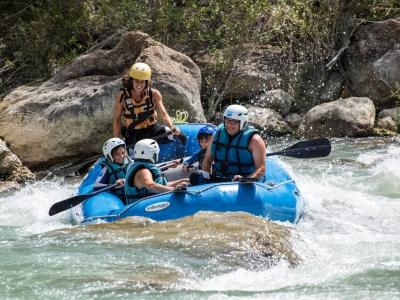 Rafting For Families in Murillo de Gállego