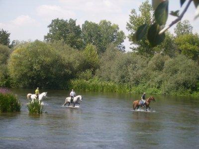 Horse Riding Route+Picnic+Accommodation, Salamanca