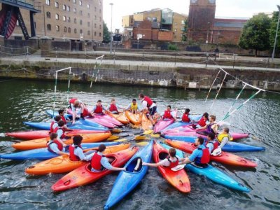 Shadwell Basin Outdoor Activity Centre Kayaking