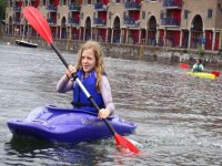 Kayaking is a fun activity to do.