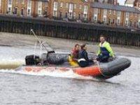 Learn powerboating skills in London.