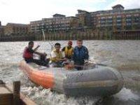 Powerboating is fun.