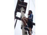 High Ropes courses give people a sense of acheivement.