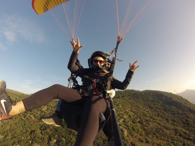 Tandem Paragliding in Cádiz + Free Photos