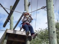 High Ropes course in London.