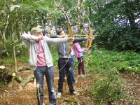 Family archery session