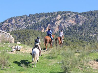 1h 30min Horse Ride Around Las Salinas, Cazorla