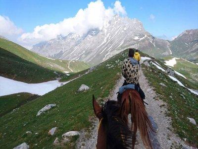 Horseback tour along banks of the Sella 3 hours