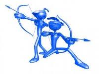 Archery dolls