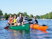 Open canoeing on the Thames