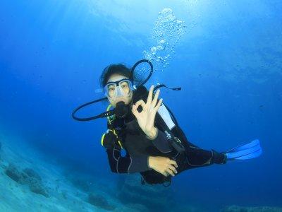 PADI Open Water Diver course in Altea, Alicante