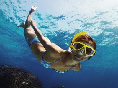 Snorkeling route in Altea Bay