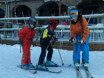 Skiing course in Astún for kids