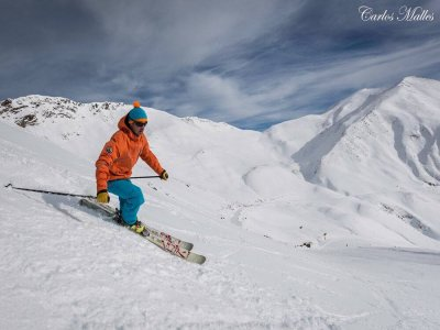 Skiing sessions for kids (7-12), Astún, 20 days