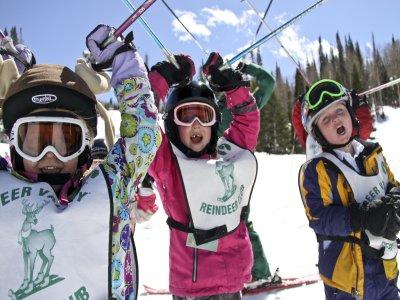 10 Ski lessons for children (7-12) Astún