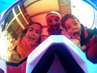 Ski training for kids in Astún